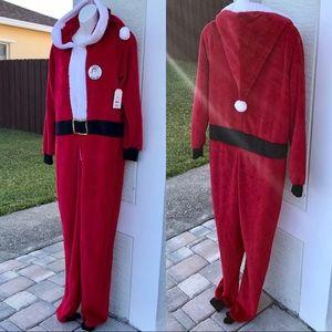 NWT Santa Onesie Pajamas